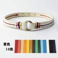 犬の首輪mck001【ルームチョーカー】mck001固定タイプステッチ color 14色 小型犬~大型犬